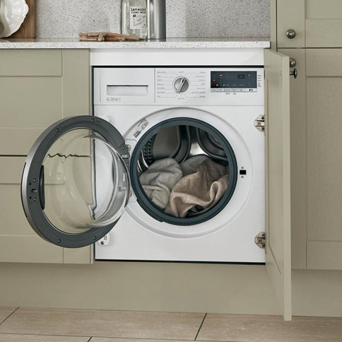 LAM8703 A Lamona White Integrated Washing Machine 8kg 1400rpm 60cm
