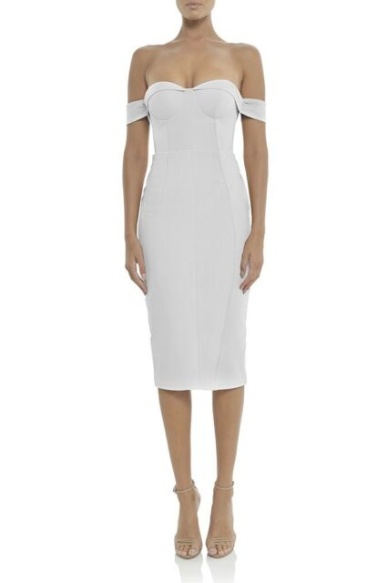 Chloe Dress - Ivory | MISHA COLLECTION