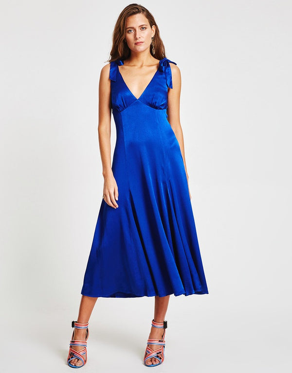 Tulum Tie Midi Dress | Vestire