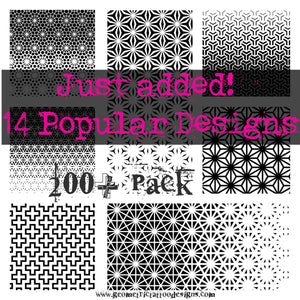 200+ Pack - Image Pack and Procreate Stamp Brush Set