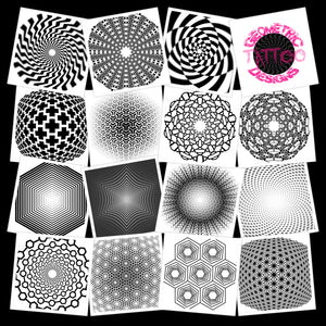 Distort Pack - 200 Designs - Image and Brush Pack