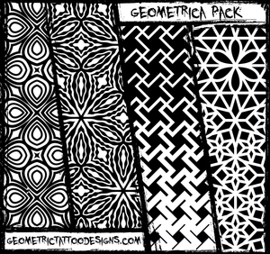 Geometrica Brush and Image Pack - 217 Designs