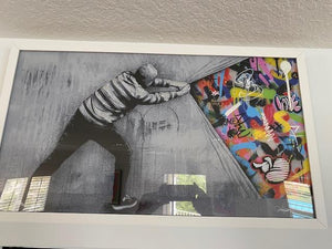Martin Whatson 'Behind the Curtain - Acrylic HF'