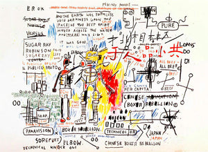 Jean-Michel Basquiat 'Boxer Rebellion'