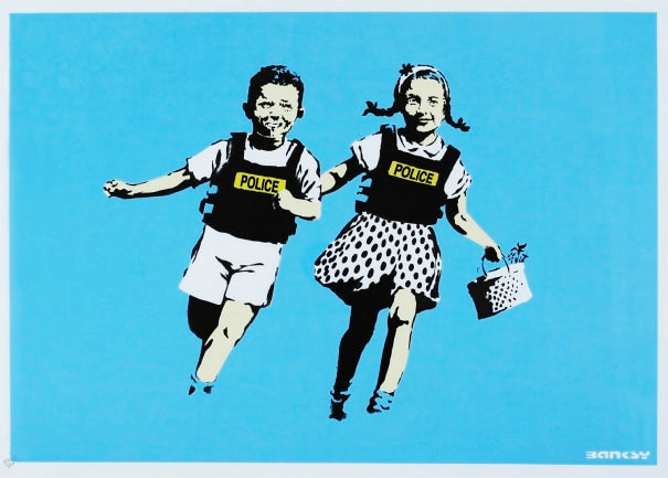 Banksy 'Jack and Jill' (Unsigned)