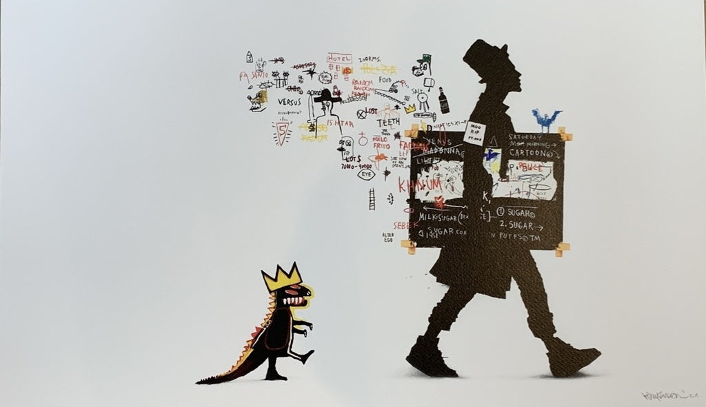 Kenny Random 'The Collector (Basquiat)'