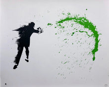 Load image into Gallery viewer, Nick Walker 'Paint Chucker (Green)'