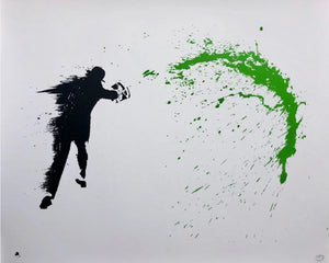 Nick Walker 'Paint Chucker (Green)'