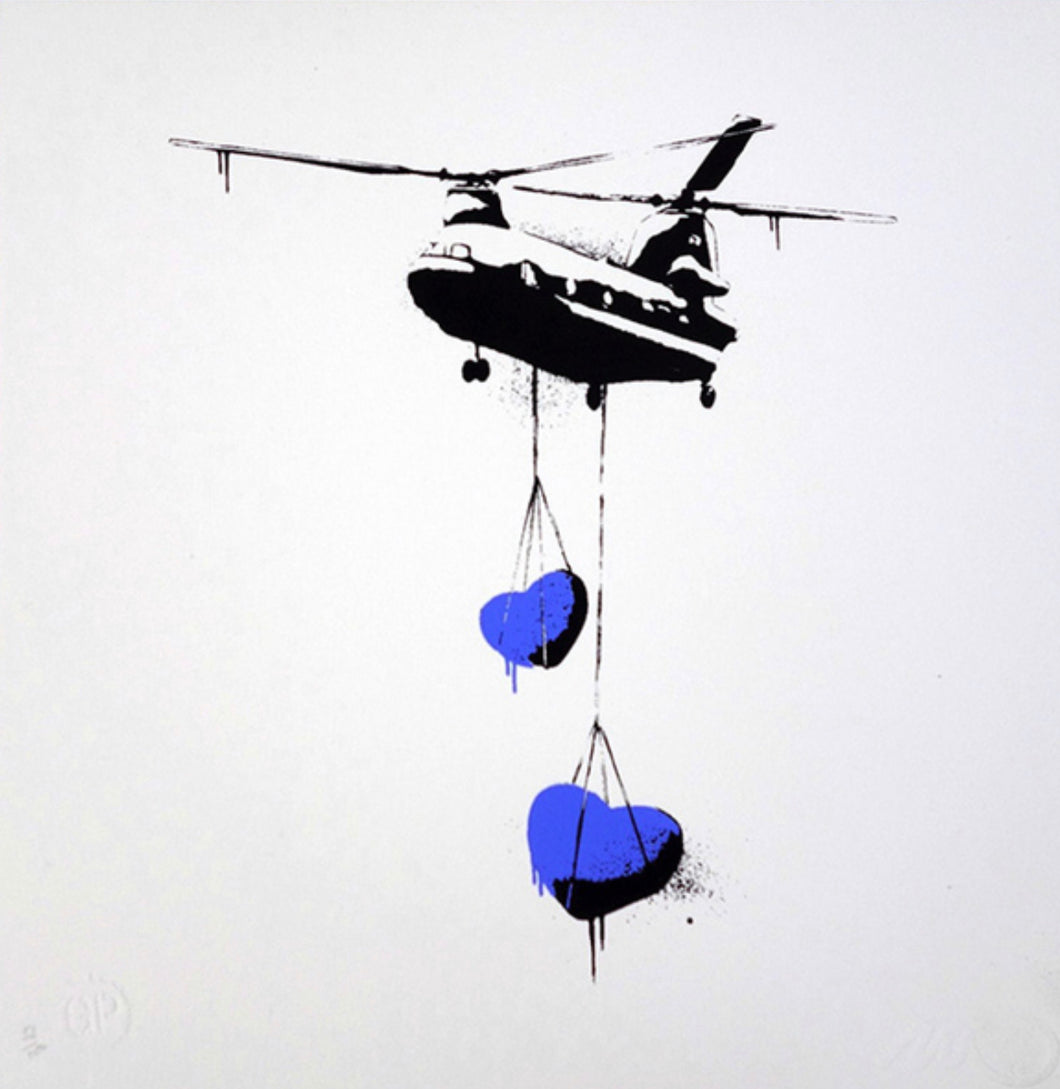 Martin Whatson 'Chinook Heart (Blue)'