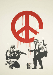 Banksy 'CND Soldiers' (Unsigned)