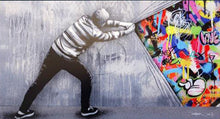 Load image into Gallery viewer, Martin Whatson 'Behind the Curtain - Acrylic HF'