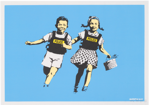 Banksy 'Jack and Jill' (Signed)