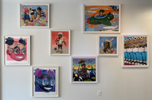 Load image into Gallery viewer, Hebru Brantley 'Don't Make Me Repeat Myself'