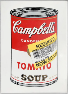 Zedsy 'Reduced Soup Can' Canvas