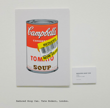 Load image into Gallery viewer, Zedsy 'Reduced Soup Can' Canvas