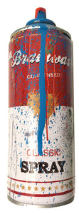Mr. Brainwash 'Classic Spray Can' (Cyan)
