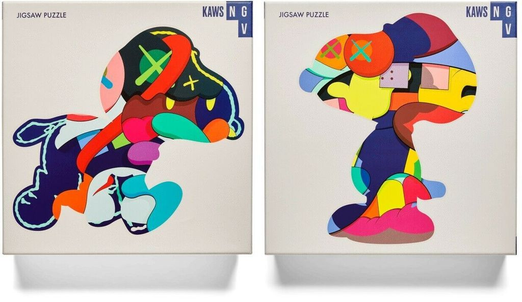 Kaws 'Stay Steady & No One's Home' NGV Puzzle Set