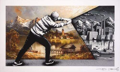 Martin Whatson x Pez 'Behind the Curtain - Back To The Future'