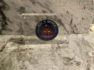 "Invader 'Art 4 Space"" Patch"