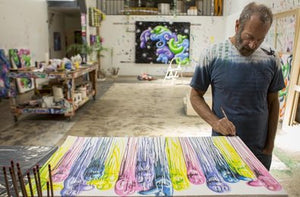 Kenny Scharf 'Sloppy Melt'