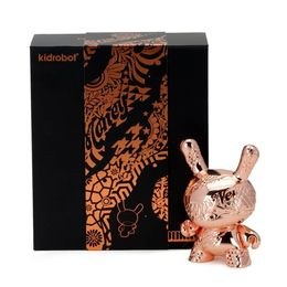 Tristan Eaton 'New Money Metal Dunny' (Rose Gold)