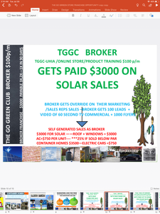 TGGC GO GREEN BROKER