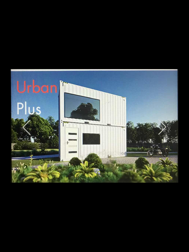 CONTAINER HOME—URBAN PLUS 1 BEDROOM 2 STORY