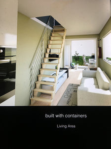 CONTAINER HOME—-URBAN PLUS X LUXURY 1 BEDROOM 2 STORY