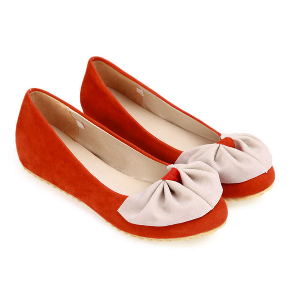 Bright Lovely Bowtie Flats