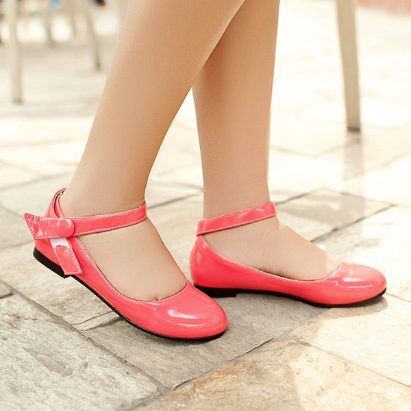 Candy Color Slip-on Flats
