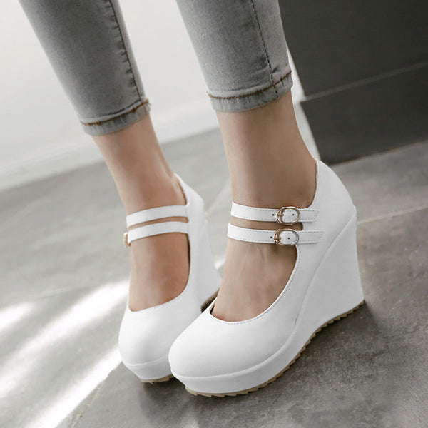 Plain Low-Cut Uppe Pumps