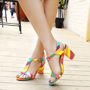 Low-Cut Upper Open Toe Sandals
