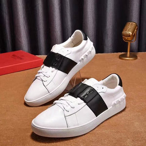 Color Block Glueing Platform Casual Sneakers