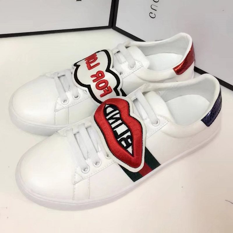 Stripe Patchwork Rubber Platform Sneakers