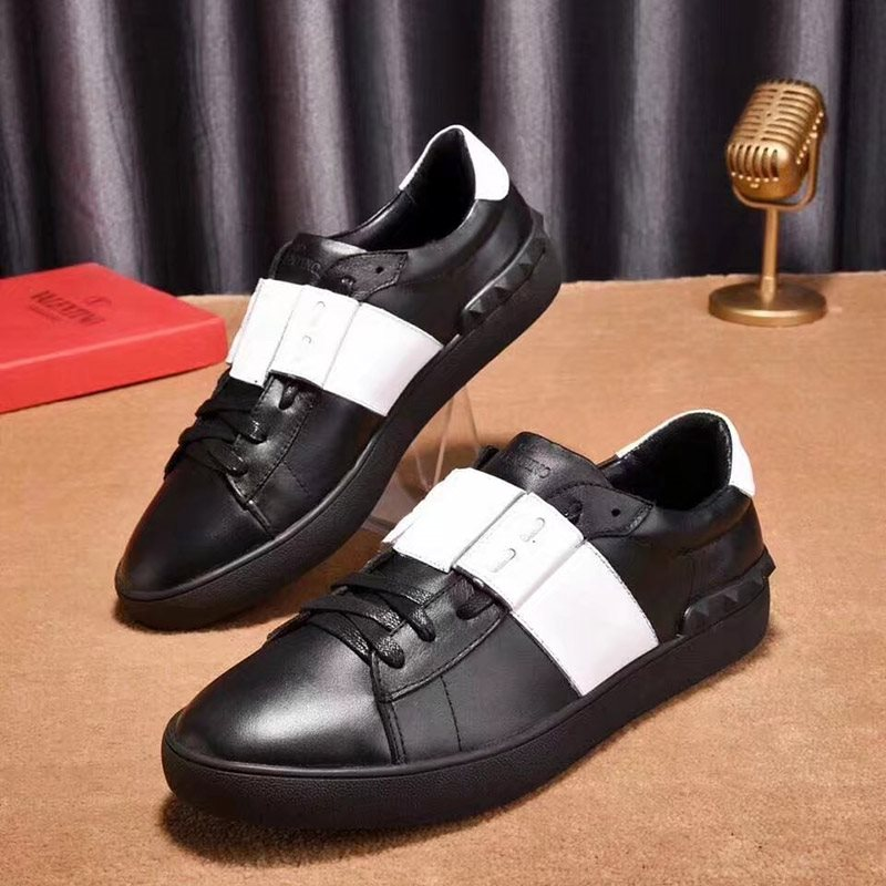 Color Block Round Toe Women's PU Sneakers