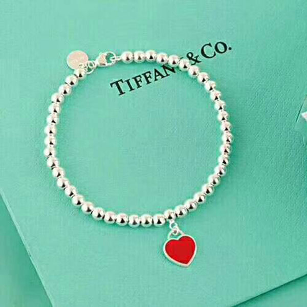 Tiffany Red Heart Bracelet