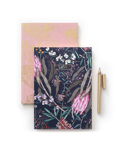 Notebook Native Pink & Navy A5 (Pack of 2)