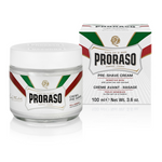 Proraso Preshave Cream - Sensitive, Grøn Te & Havre, 100 ml
