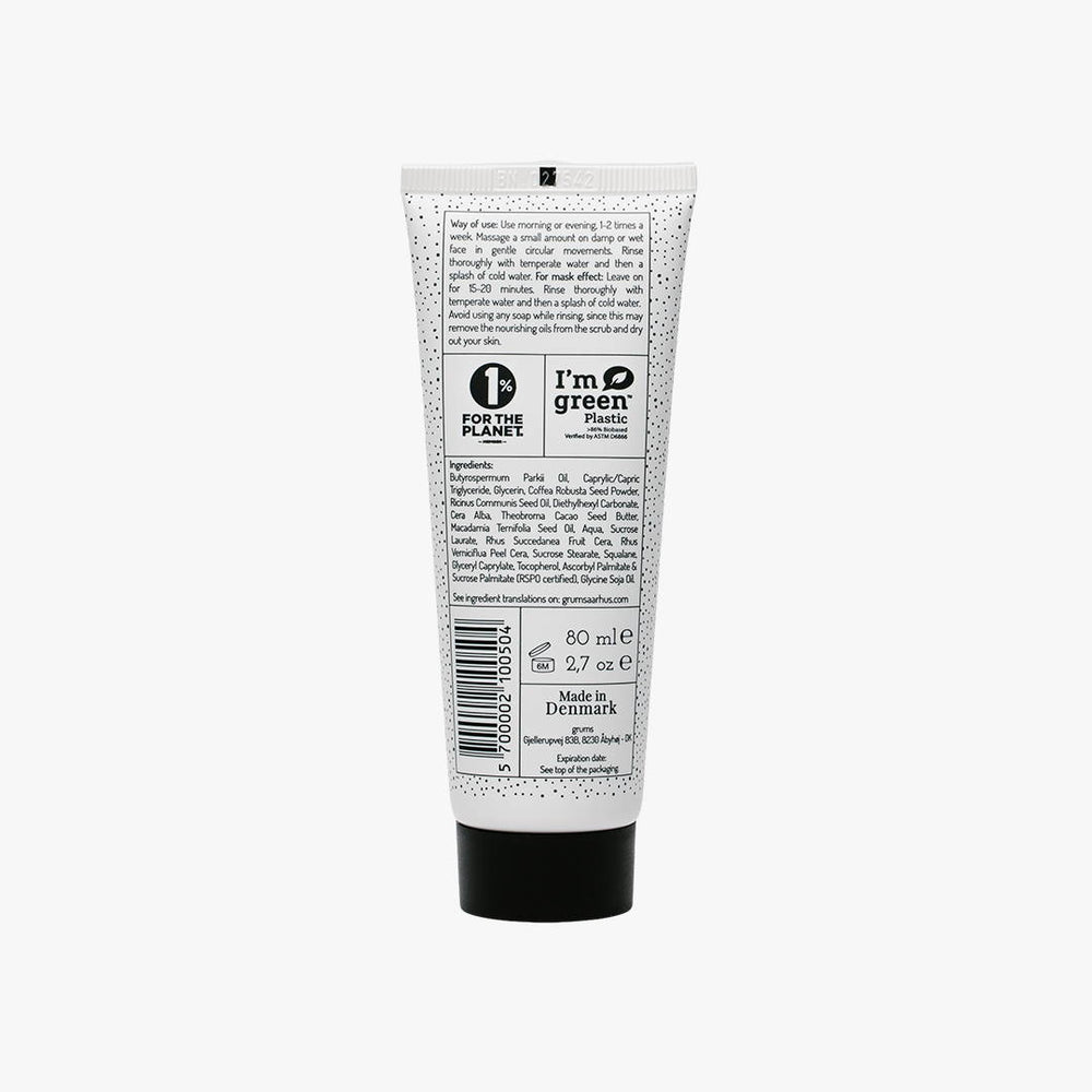 Grums Raw Espresso Face Scrub + Mask 80 ml