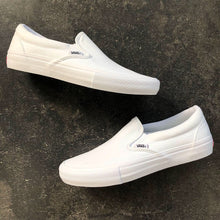 Vans Slip On Pro White/White Canvas