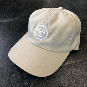 561 Hat Dad Cap No.5 Light Tan/White