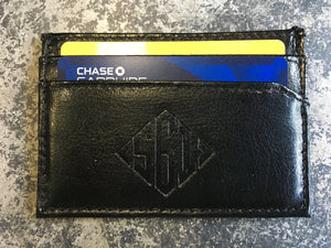 561 Wallet Black Leather