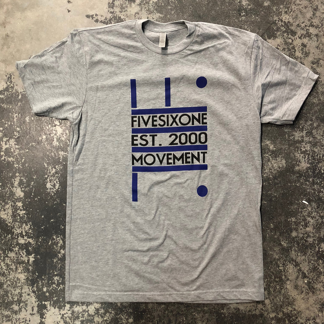 561 T-shirt Movement Heather Grey