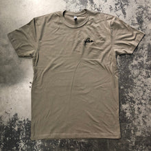 561 T-shirt FSO Script Embroidery Grey Green/Black