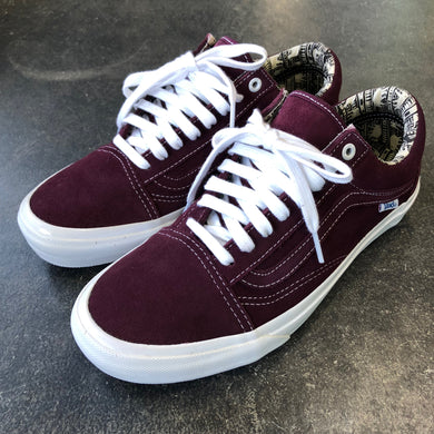 Vans Old Skool Pro Ray Barbee OG Burgundy