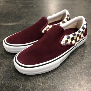 Vans Slip On Pro Multi Checker Port Royal