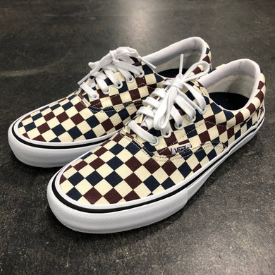 Vans Era Pro Multi Checker Dress Blue