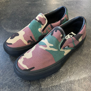Vans Slip On Pro Camo Black