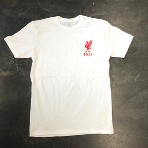 561 T-shirt Anfield White/Red