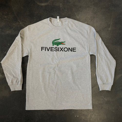 561 Longsleeve T-shirt Flacoste Heather Grey